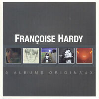 Francoise Hardy : 5 Albums Originaux CD Box Set 5 discs (2014) ***NEW***