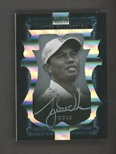 2015 U.D. Master Collection Tiger Woods Golf Silver Ink AUTO 6/20