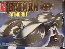 Vintage ERTL AMT 1989 Batman Batmobile 1/25 Scale Plastic Model Kit