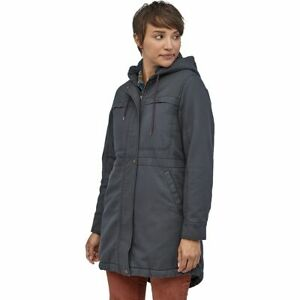 Patagonia $279 Prairie Dawn Insulated Parka size M  Organic Cotton Canvas coat
