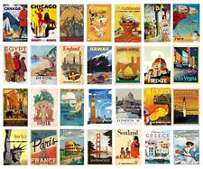 VINTAGE TRAVEL Railway POSTERS A4 A3 Retro Prints BUY 1 GET 2 FREE 70+OPTIONS