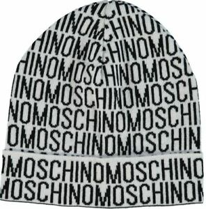 Moschino men's beanie hat - one size - Made in Italy