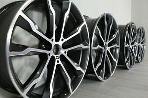 "NEW GENUINE BMW X3 G01 X4 G02 20"" 699M wheels - P/N: 8010268 (F), 8010269 (R)"