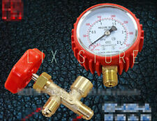 Brand new fluorine-filled pressure gauge for air-conditioning refrigerators