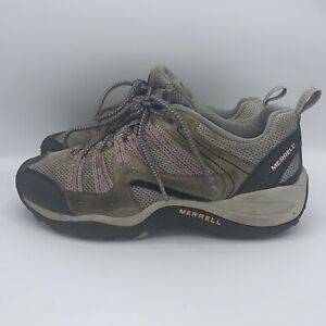 Merrell Payette Hiking Shoe Pewter Peppermint (Gray/Pink) Women's Size 8