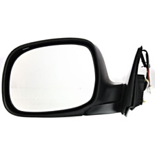 Fits 00-06 Tundra Exc Double Cab Left Driver Mirror Power Chrome w/o Heat