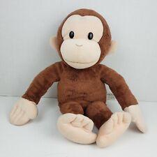 "Curious George Plush Classic Plush Applause Stuff Animal Monkey Kids Toy 16"" EUC"