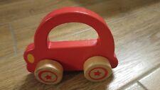 Holzauto Holzschiebeauto Auto Greifling Holz Baby Spielzeug * fast wie neu
