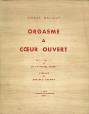 RARISSIME EO N° ROGER GALIZOT + JULIEN-MICHEL FREBET : ORGASME À COEUR OUVERT