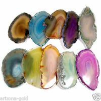 10 Lot Agate Slices Geode Polished Slab Brazil Quartz Wholesale Randomly Picked