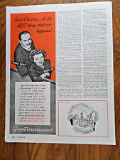 1946 Movie Ad The Best Years of Our Lives w/ March, Loy