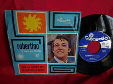 ROBERTINO Era la donna mia + Mi porterò la banda 45rpm 7' + PS 1967 ITALY EX