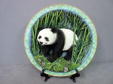 New Stunning Panda Bear 3D Deco Plate with Stand Pandas Bears