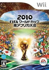 Used Wii 2010 FIFA  South Africa Nintendo JAPAN JP JAPANESE JAPONAIS IMPORT