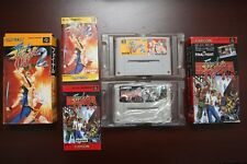 Super Famicom SFC Final Fight 1 2 Boxed Japan Capcom classic games US Seller