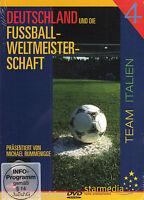 DVD - Germania Und Die Gioco Calcio Campionato Del Mondo - Team Italia - Nuovo /