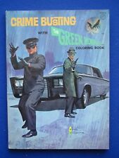 Crime Busting with The Green Hornet Coloring  Book  1966  Bruce Lee  USA