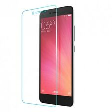 Clear Slim GEL Case and Glass Screen Protector Guard for XIAOMI REDMI Note 4