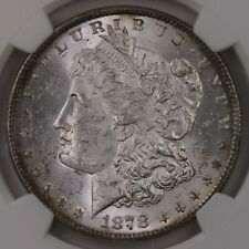 1878 Morgan 8TF $1 VAM-21 NGC Certified MS62