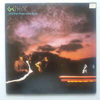 Genesis - And Then There Were Three Vinyl LP UK 1st Press Large Hatter