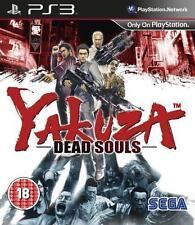 Yakuza Dead Souls PS3 *BRAND NEW * AU STOCK*