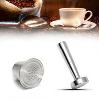 Refillable Coffee Capsules Cup For Nespresso Reusable Filters Stainless Steel