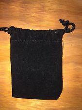 50 Pc Lot Black Velvet Drawstring Jewelry Favor Pouches 225 X 325 A0042