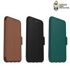 OtterBox Strada Cuero Cartera Funda Galaxy IPHONE 7 8 10 11 X XR Xs Max Plus Pro
