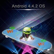 "5"" HD 1080P Android GPS Nav Car Rearview Mirror Dual Lens DVR Camera WIFI FM"