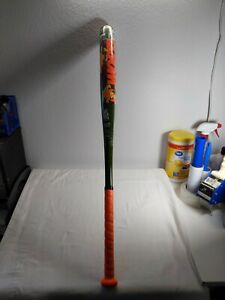 "Worth Softball Bat Adult ASA 34"" / 26.5 USSSA 1.20 Camo / Orange"