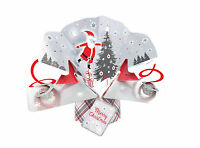 Santa Petite Christmas Pop-Up Greeting Card Second Nature 3D Pop Up Cards