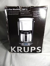 KRUPS FMF5 10 CUP COFFEE MAKER WITH THERMAL CARAFE