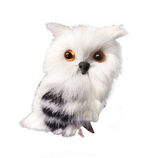 Mini Simulation Plush Owl Toy Small Plush Animal Toy Ornament