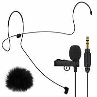 Rode Lavalier GO Lavaliermikrofon + Headset Kopfbügel M + keepdrum Windschutz
