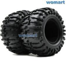 2Stk RC 2.2 Reifen Tires Für RPM 2.2'' Truck Felgen & Tamiya G6-01 6x6 KONGHEAD
