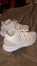 White Nike Kyrie 5 shoes Mens 7.5/Womens 9