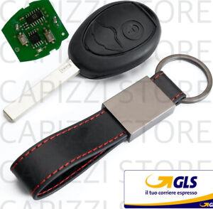 chiave telecomando completa di elettronica compatibile per mini cooper 2 tasti