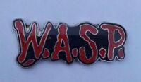 W.A.S.P. OFFICIAL 1989 TOUR ENAMEL PIN BADGE HEAVY METAL BLACKIE LAWLESS WASP