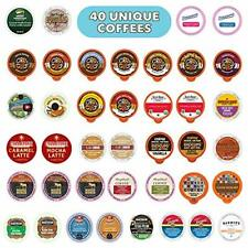 Flavored Coffee Variety Sampler Pack, Kcups and Single Serve Pods, Assorted F...