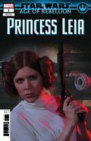 STAR WARS AOR PRINCESS LEIA #1 MOVIE VARIANT COVER C1ST PRINT