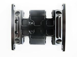 CNC Alloy Gear Box Mount/Holder Black for Axial SCX10 1/10 RC Crawlers