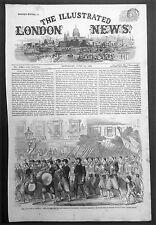 1861 Illustrated London News x 4 Pages, June 1861 America Civil War - Virginia