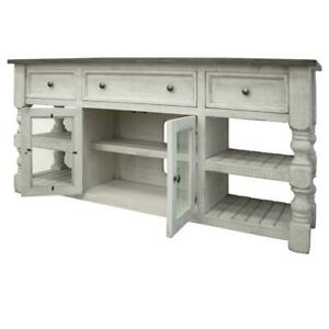"""Crafters and Weavers Stonegate TV Stand - 70"""""""