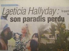 LAETICIA SON PARADIS PERDU - JOHNNY HALLYDAY 1er ANIV - 13/11/2018 -