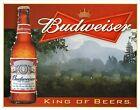 Budweiser King of Beers metal Wall Sign (ga)
