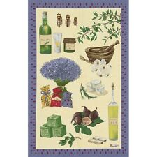 BEAUVILLE French Dish Towel Provence Lavender Olive Oil Soap Savon de Marseille
