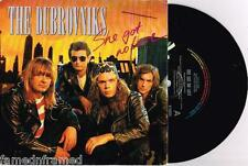 "THE DUBROVNIKS - SHE GOT NO LOVE - RARE 7"" VINYL RECORD w PROMO PICT SLV - 1990"