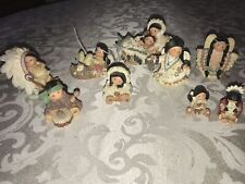 Enesco Friends Of The Feather Indian Lot Of 9 1994-1998