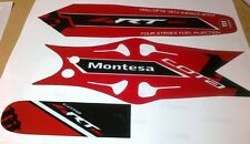 Montesa  4RT  2014 style  Mudguard / Fender   Decal Set  For 2005- 2013 Fenders