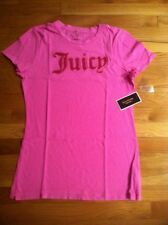 JUICY COUTURE PINK CERISE RED BOUCLE SHIRT ORG. $68.00 SIZE XLARGE BNWT